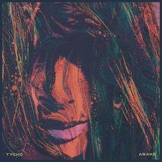 "Tycho \""Awake\"" Single album cover"