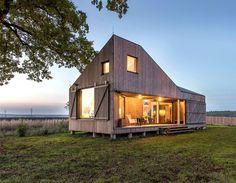 Modernistic Wooden House Zilvar - #architecture, #house, #home, home, architecture