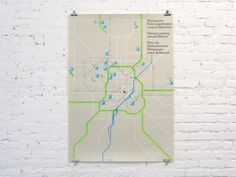 Olympic parking around Munich, Otl Aicher #design #graphic #map #wayfinding #aicher #poster #parking #olympics #munich