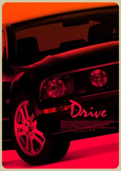 Drive #movie #pop #classic #retro #drive #minimal #poster #mustang