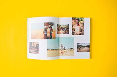 The Well Book #photo #print #layout #color