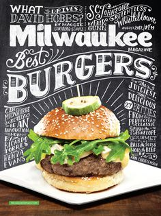 MilwaukeeCover_01.jpg #yummy #lettering #burgers