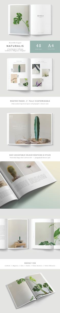 N A T U R A L I S Lookbook / Magazine on Behance