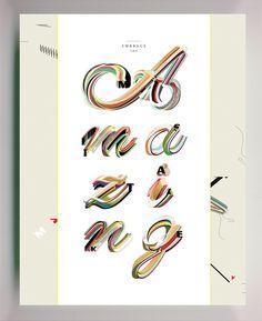 Keetra Dean Dixon #stroke #type #design #multi