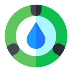See more icon inspiration related to water, drop, garden, sprinkler, farming and gardening, ecology and environment, gardening, extinguisher, electronics, safety, security and ceiling on Flaticon.