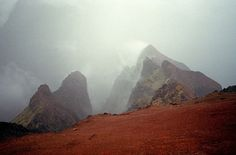 Untitled | Flickr - Photo Sharing! #mist #mountains #film