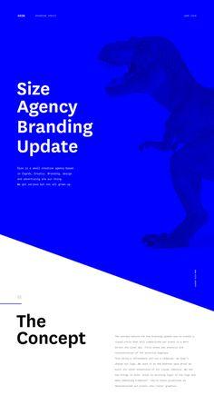 Size Agency - Branding Update on Behance