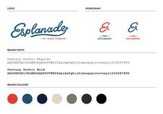 Esplanade // Brand development by Hardhat