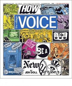 The Village Voice - Coverjunkie.com #york #new