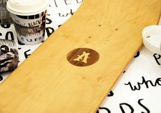 New Zealand's Best Graphic Design. #lettering #charity #handmade #autism #coffee #skateboard #typography