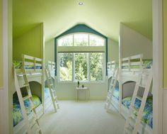 30+ Beautiful Bunk Room Ideas for Kids #kids #bedroom #bunk #room