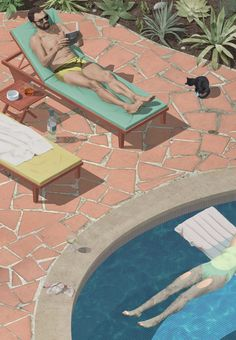 Futuristic and Hyperreal Digital Illustrations by Max Guther