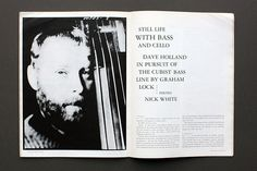 the Wire #layout #magazine #the wire #blackwhite