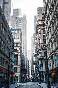 Downtown Manhattan by Alik Mos