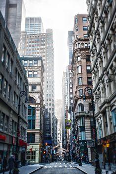Downtown Manhattan by Alik Mos