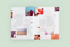 Magazine Layout Inspiration 2 #layout magazine