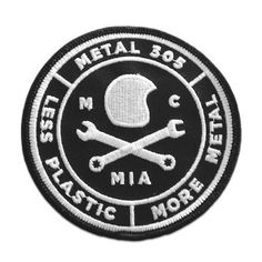 M305 Badge Patch #metal #helmet #patch #wrench