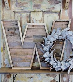 pallet letters #interior #wood #letter #upcycle