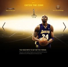 Kobe Bryant - Enter The Zone #design #graphic