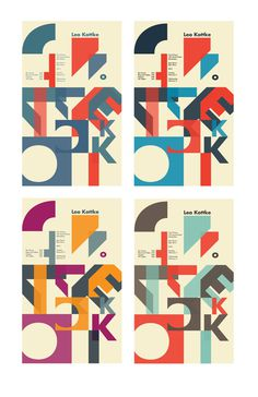 Type as image Music Poster on Behance