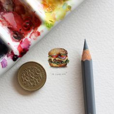 postcardsforants-2 #miniature #painting