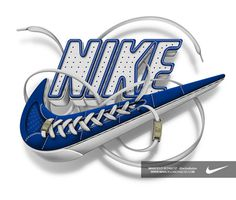 Nike Futura logo on Behance #illustration #typography #logo #nike