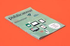 publicateur newspaper #02 | Illustration and layout on Behance