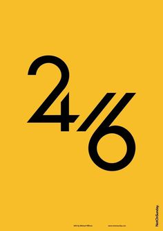 2416 / numbers #typography #numbers