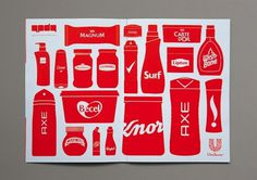 MMC #print #unilever #pictogram #brands