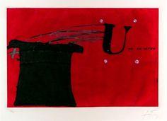 Tapies_U_No_es_ningu.jpg 600×436 pixels #tpies #u #s #spanish #antoni #painting #art #ning #1979 #no