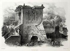 Antonio Basoli, 1839 #R #type #illustration #architecture