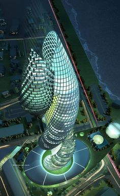 The mystery Cobra Towers #modern #design #towers #architecture #cobra