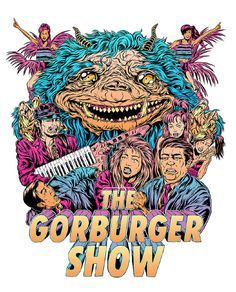 The Gorburger Show SXSW Poster JAMES JIRAT PATRADOON #jratpatradoon #illustration
