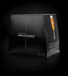Monteith's Single Source - TheDieline.com - Package Design Blog #beer #packaging