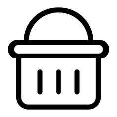 See more icon inspiration related to shopping basket, commerce and shopping, online store, shopping store, supermarket, online shop and commerce on Flaticon.