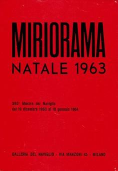 """garadinervi: """"Gruppo T, Miriorama Natale 1963, Galleria del Naviglio, Milano, December 19 – January 10, 1964 """""""