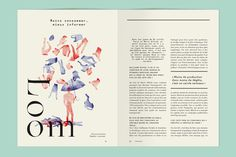 W - 1st issue on Behance