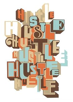 Typeverything.com The New Hustle by Greg... - Typeverything #lettering #hustle #spone #lamarche #type