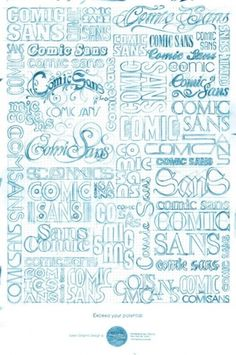 Typeverything.com Shillington School Poster by... - Typeverything #school #sans #comic #handwritten #poster
