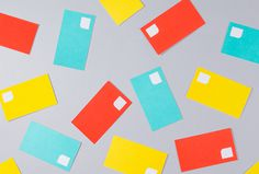 Mattress Recycling by Brief #colourful #graphic design #business cards