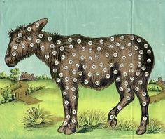 Agence eureka #donkey illustration numbers