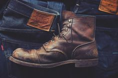 manchannel:nnRed Wing Iron Rangern #boots