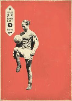 Sucker for Soccer on the Behance Network #print #design #graphic