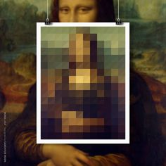 MONA LISA #color #poster