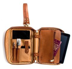 FFFFOUND! #ipad #organiser #breifcase #passport #bag