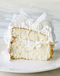 coconut cloud cake martha stewart receipe #cake