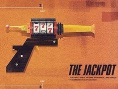Dribbble - The Jackpot by Dan Matutina #illustration #design #raygun52 #jackpot