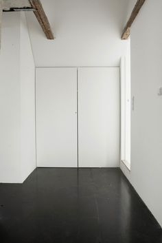 Black white interior