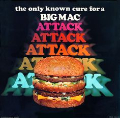McDonalds - Big Mac Attack translite - 1976 on Flickr - Photo Sharing! #ad