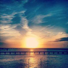 Holyhead sunset #sunset #sea #holyhead